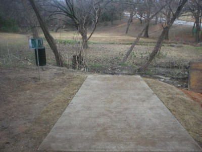 Turner Park, Main course, Hole 5 Tee pad