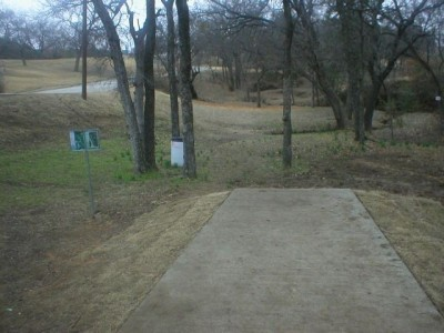 Turner Park, Main course, Hole 12 Tee pad