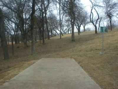 Turner Park, Main course, Hole 11 Tee pad