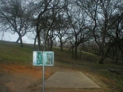 Turner Park, Main course, Hole 9 Tee pad