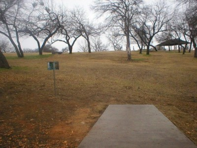 Turner Park, Main course, Hole 15 Tee pad