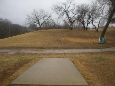 Turner Park, Main course, Hole 4 Tee pad