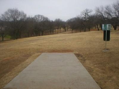 Turner Park, Main course, Hole 14 Tee pad