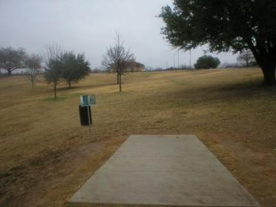 Turner Park, Main course, Hole 1 Tee pad