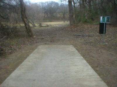 Turner Park, Main course, Hole 10 Tee pad