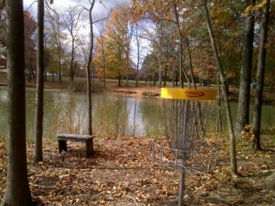 Alum Creek State Park, The Players Course, Hole 11 Putt