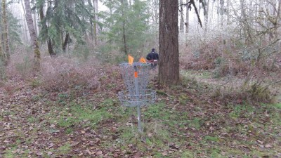Camp Taloali, Jerry Miller DGC, Hole 8 Putt