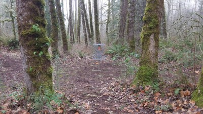 Camp Taloali, Jerry Miller DGC, Hole 12 Putt