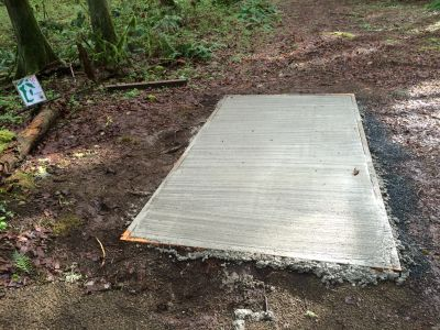 Camp Taloali, Jerry Miller DGC, Hole 18 Tee pad
