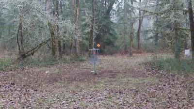 Camp Taloali, Jerry Miller DGC, Hole 9 Putt