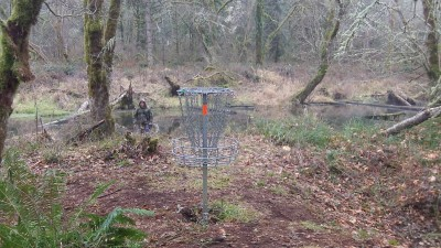 Camp Taloali, Jerry Miller DGC, Hole 15 Putt