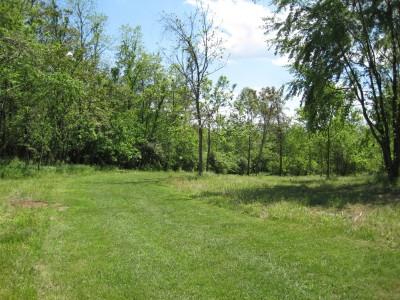 Poor House Farm Park, Main course, Hole 6 Long approach