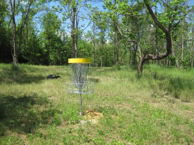 Poor House Farm, Main course, Hole 5 Reverse (back up the fairway)