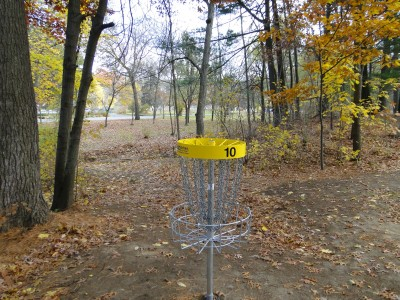 Central Park Schenectady, Main course, Hole 10 Reverse (back up the fairway)