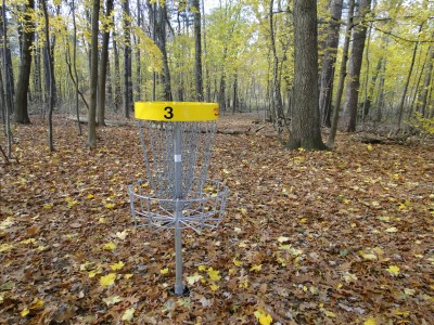 Central Park Schenectady, Main course, Hole 3 Reverse (back up the fairway)