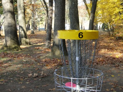 Central Park Schenectady, Main course, Hole 6 Reverse (back up the fairway)