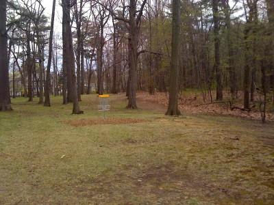 Central Park Schenectady, Main course, Hole 1 Putt