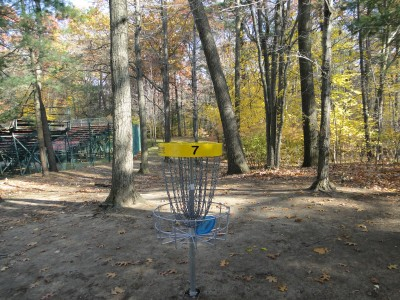 Central Park Schenectady, Main course, Hole 7 Reverse (back up the fairway)