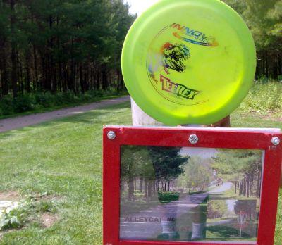 Steen Park, Main course, Hole 6 Hole sign