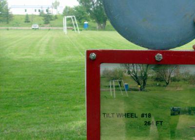Steen Park, Main course, Hole 18 Hole sign