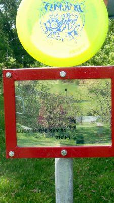 Steen Park, Main course, Hole 4 Hole sign