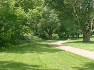 Steen Park, Main course, Hole 3 Midrange approach