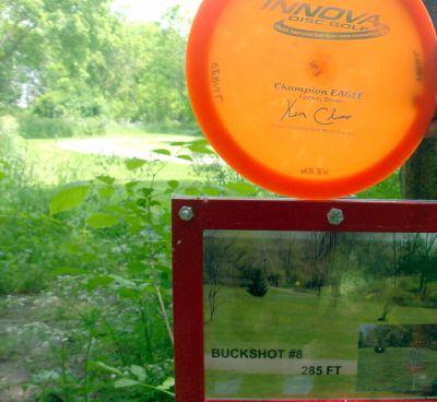 Steen Park, Main course, Hole 8 Hole sign