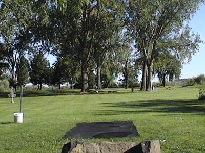 Two Rivers Park, Main course, Hole 6 Long tee pad