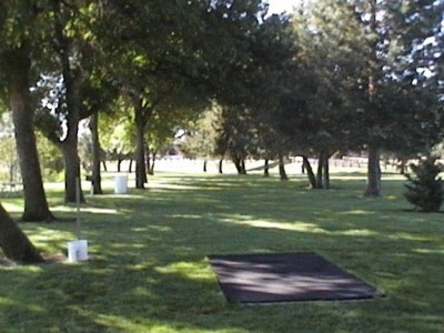 Two Rivers Park, Main course, Hole 11 Tee pad
