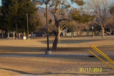 Freedom Park, New course, Hole 9 Tee pad