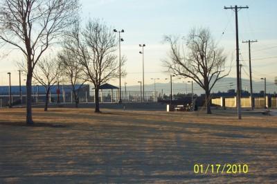 Freedom Park, New course, Hole 8 Tee pad
