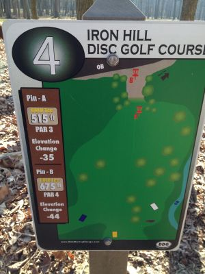 Iron Hill, Main course, Hole 4