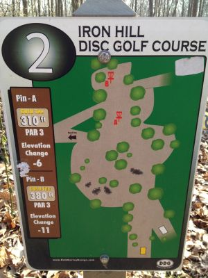 Iron Hill, Main course, Hole 2