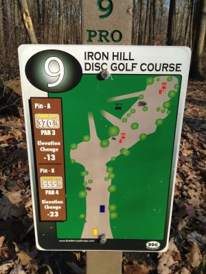 Iron Hill, Main course, Hole 9