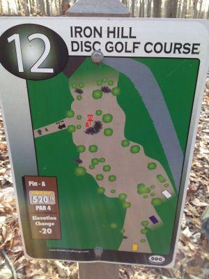 Iron Hill, Main course, Hole 12