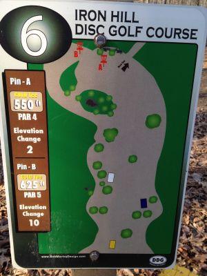 Iron Hill, Main course, Hole 6