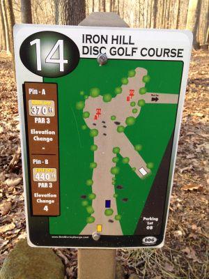 Iron Hill, Main course, Hole 14