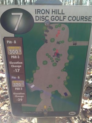 Iron Hill, Main course, Hole 7