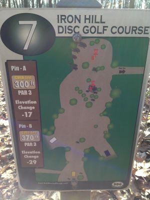 Iron Hill, Main course, Hole 7