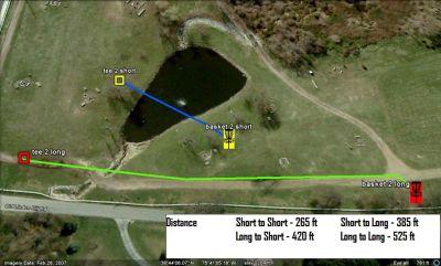 Carousel Park, Main course, Hole 2 Hole sign