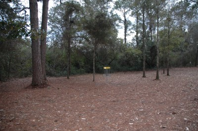 Joe Moody Harris Park, Main course, Hole 3 Short approach