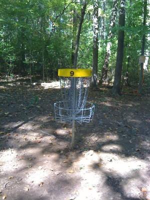 Nevin Park, Main course, Hole 9 Putt