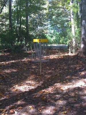 Nevin Park, Main course, Hole 6 Putt