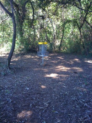 Nevin Park, Main course, Hole 13 Short approach