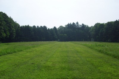 BlueGill Disc Golf Course, Main course, Hole 7 Tee pad