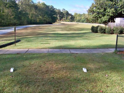 Chamblee Church, Main course, Hole 3 Tee pad
