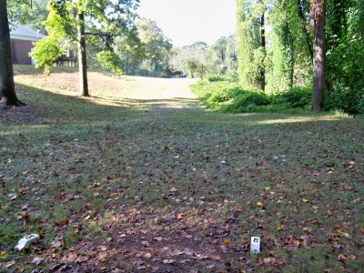 Chamblee Church, Main course, Hole 8 Tee pad