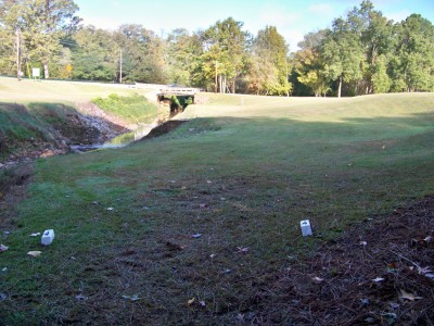 Chamblee Church, Main course, Hole 4 Tee pad