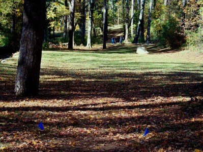 Perkerson Park, Main course, Hole 13 Long tee pad