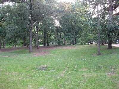 Perkerson Park, Main course, Hole 3 Long approach